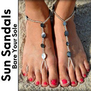 Barefoot Sandals, Bare Your Sole, Blue